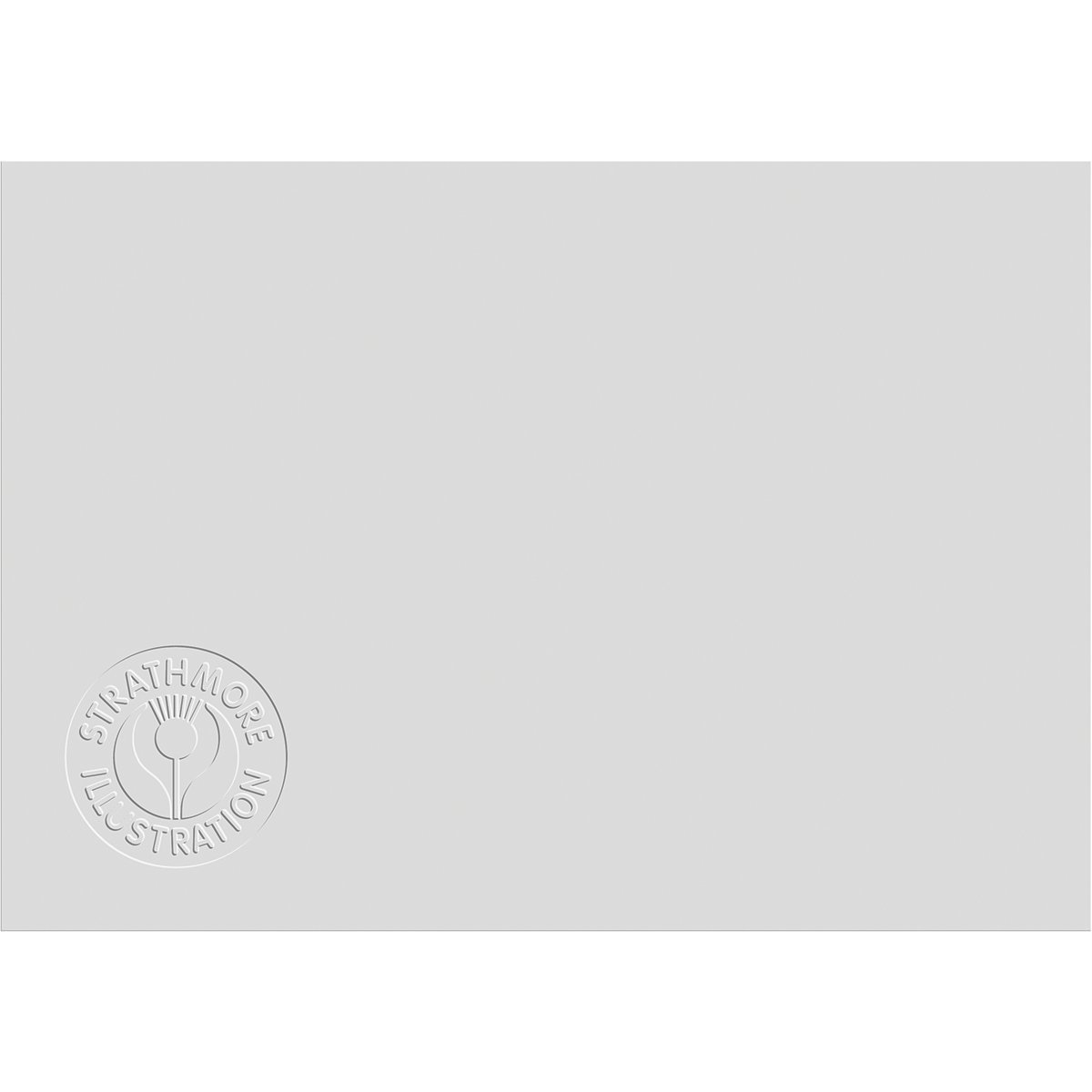 Strathmore 500 Series Illustration Board, Lightweight Vellum Surface 15 Sheets (240-13) by Strathmore