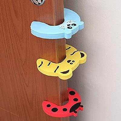 /Protector para puertas Queta Espuma Tope para puerta de seguridad para ni/ños Baby dedos/ 10/x Kit de seguridad para ni/ños