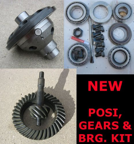(Trac-Lock Posi - Gear - Bearing Kit Package for Ford 8