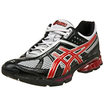 ASICS Men's GEL-Kushon TR Training Shoe,Black/Red/Silver,10 D US