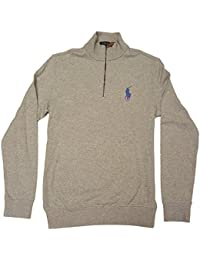 Polo Ralph Lauren Mens Big Pony Half Zip Pullover Sweatshirt