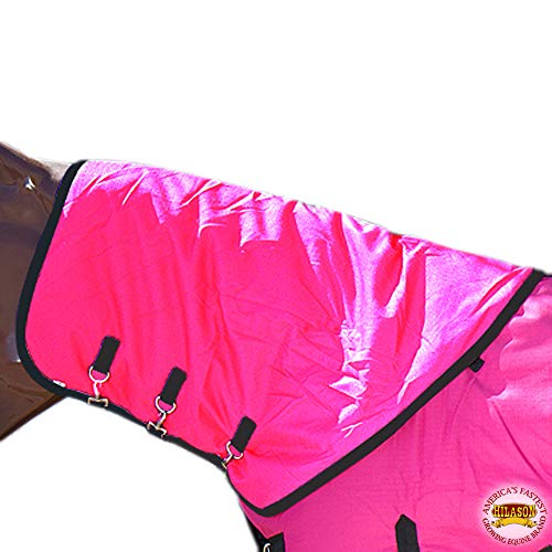 HILASON Med 1200D Winter Waterproof Poly Turnout Horse Hood Neck Cover from HILASON