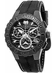 TechnoMarine Cruise Medusa Chronograph Black Dial Mens Watch 115081