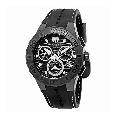 TechnoMarine Cruise Medusa Chronograph Black Dial Mens Watch ()