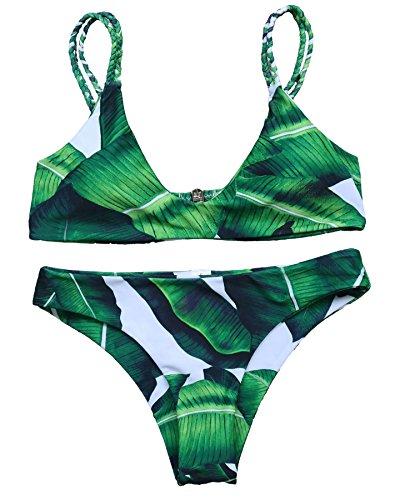 MOOSKINI Womens Tankinis Printed Swimsuit