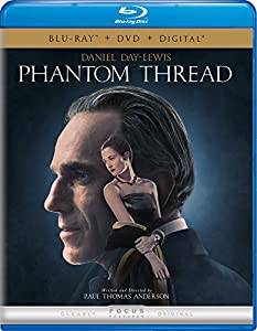 Cover Image for 'Phantom Thread [Blu-ray + DVD + Digital]'