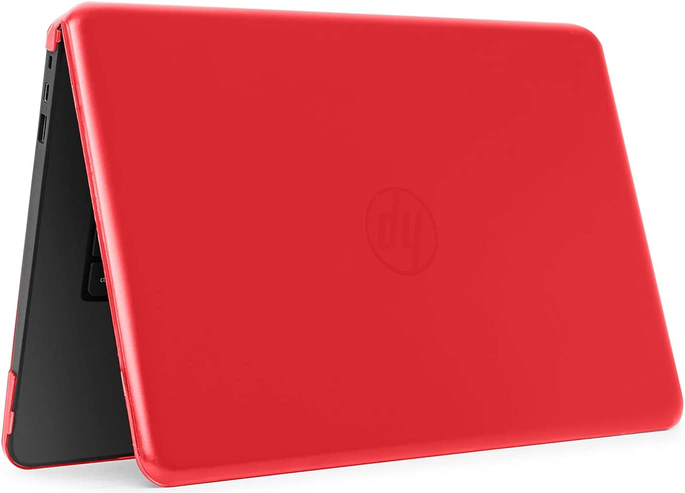 """mCover iPearl Hard Shell Case for 14"""" HP Stream 14-AX000 14-CBxxx Series (NOT Compatible with HP Stream 14 Zxxx and HP Chromebook 14 G1/G2/G3/G4 Series) Windows laptops (HP S14-AX) (Red)"""