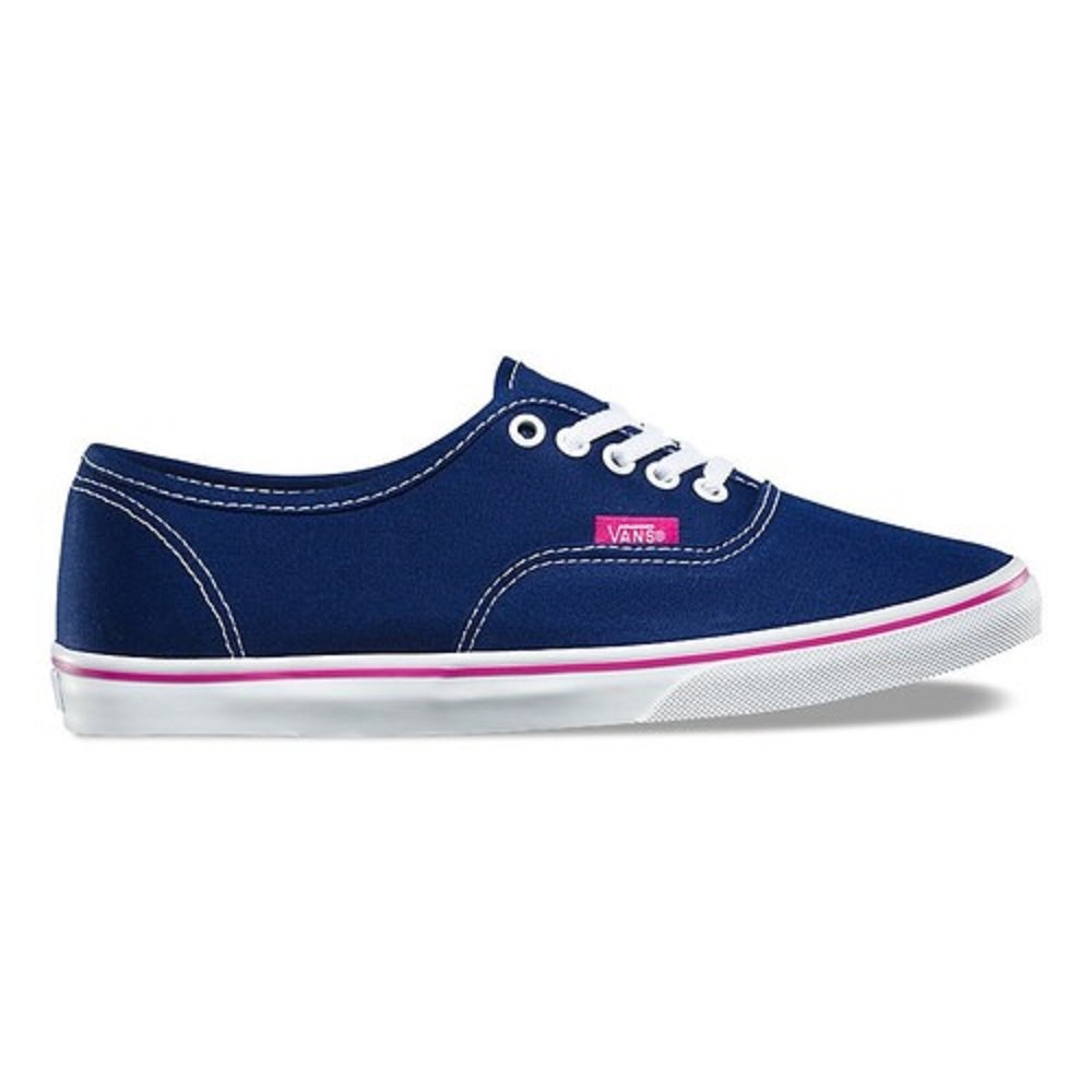 Vans Unisex Authentic Skate Shoe (7.5 B(M) US Womens/ 6.0 D(M) US Mens, Blue Depths/ Very Berry) by Vans