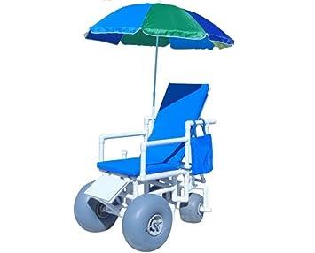 Amazon.com: rolleez playa silla de ruedas con wheeleez ...