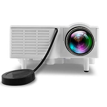 SOSAWEI Mini proyector, proyector portátil, Gran Regalo del ...