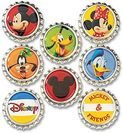 Pre Cut One Inch Bottle Cap Images DEER Free Shipping