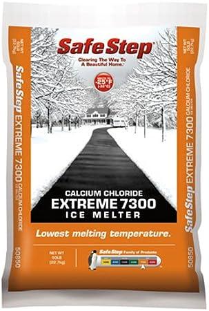Safe Step 53851 Magnesium Chloride 8300 Ice Melter 50-Pound Pet Friendly