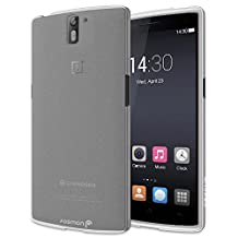 Fosmon® OnePlus One Case (DURA-FRO) Slim-Fit Flexible TPU Case Cover for OnePlus One- Fosmon Retail Packaging (Clear)