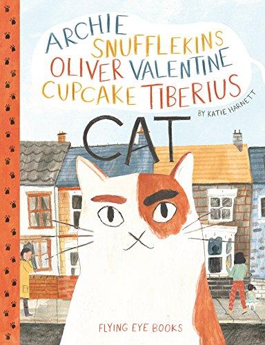 Archie Snufflekins Oliver Valentine Cupcake Tiberius Cat]()