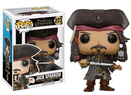Funko POP Disney Pirates of The Caribbean Jack Sparrow Action ()