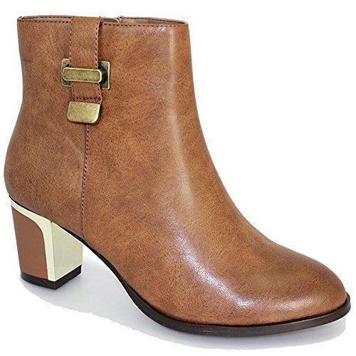 Sapphire Boutique by Sapphire , Damen Chelsea Boots Hellbraun