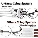 Icing Spatula, U-Taste Offset Spatula Set with