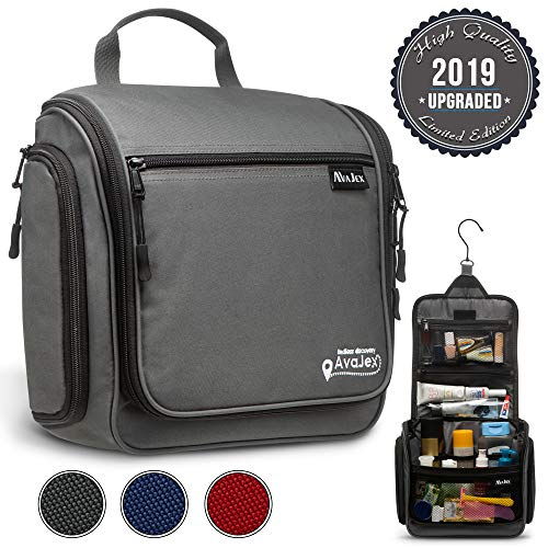 d751356e8d32 Premium Hanging Travel Toiletry Bag for Men and Women - Large ...