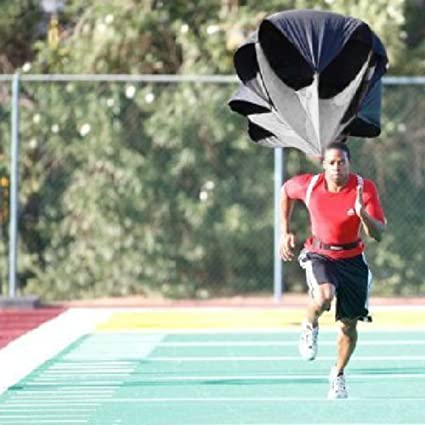 PRO 48/'/' Running Speed Chute Training Resistance Parachute DRILL SPRINT FITNESS