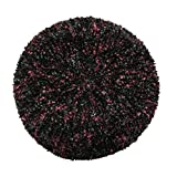 Black and Maroon Snood with 2 Colors Beutifully Woven Together