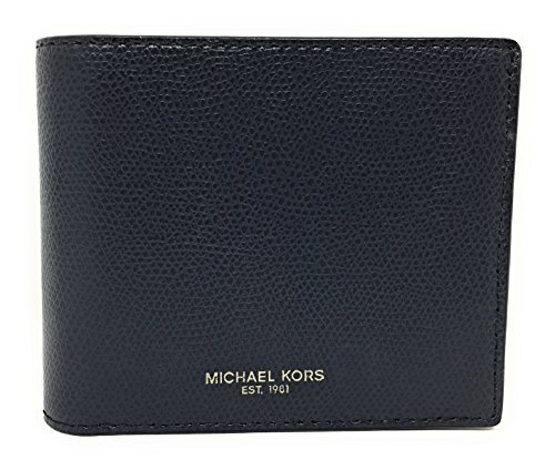 Michael Kors Warren Men's Leather Billfold with Passcase Wallet - Michael Kors Shop