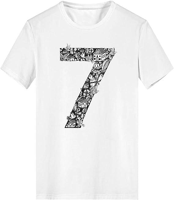 HCFKJ Camisetas Hombre Camiseta De Dibujos Animados De Moda Animal Camiseta De Manga Corta De AlgodóN Top: Amazon.es: Ropa y accesorios