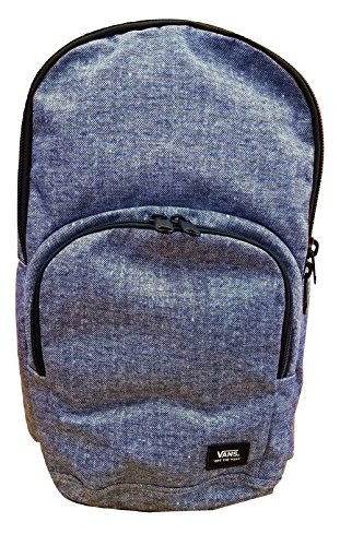 Vans Men's/Women's Alumni Pack (Laptop Backpack) (Woven Navy - Angeles Company Los Running