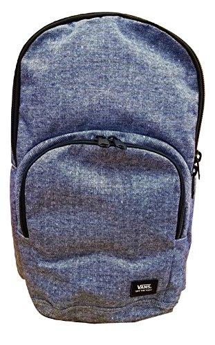 Vans Men's/Women's Alumni Pack (Laptop Backpack) (Woven Navy Blue)