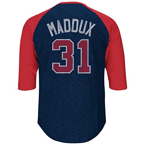 Greg Maddux Atlanta Braves Majestic MLB