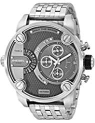 Diesel SBA Dual Time Zone Stainless Steel Mens Watch - DZ7259