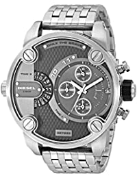 SBA Dual Time Zone Stainless Steel Men's Watch - DZ7259