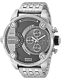 Diesel Men's DZ7259 The Daddies Series Analog Display Analog Quartz Silver Watch