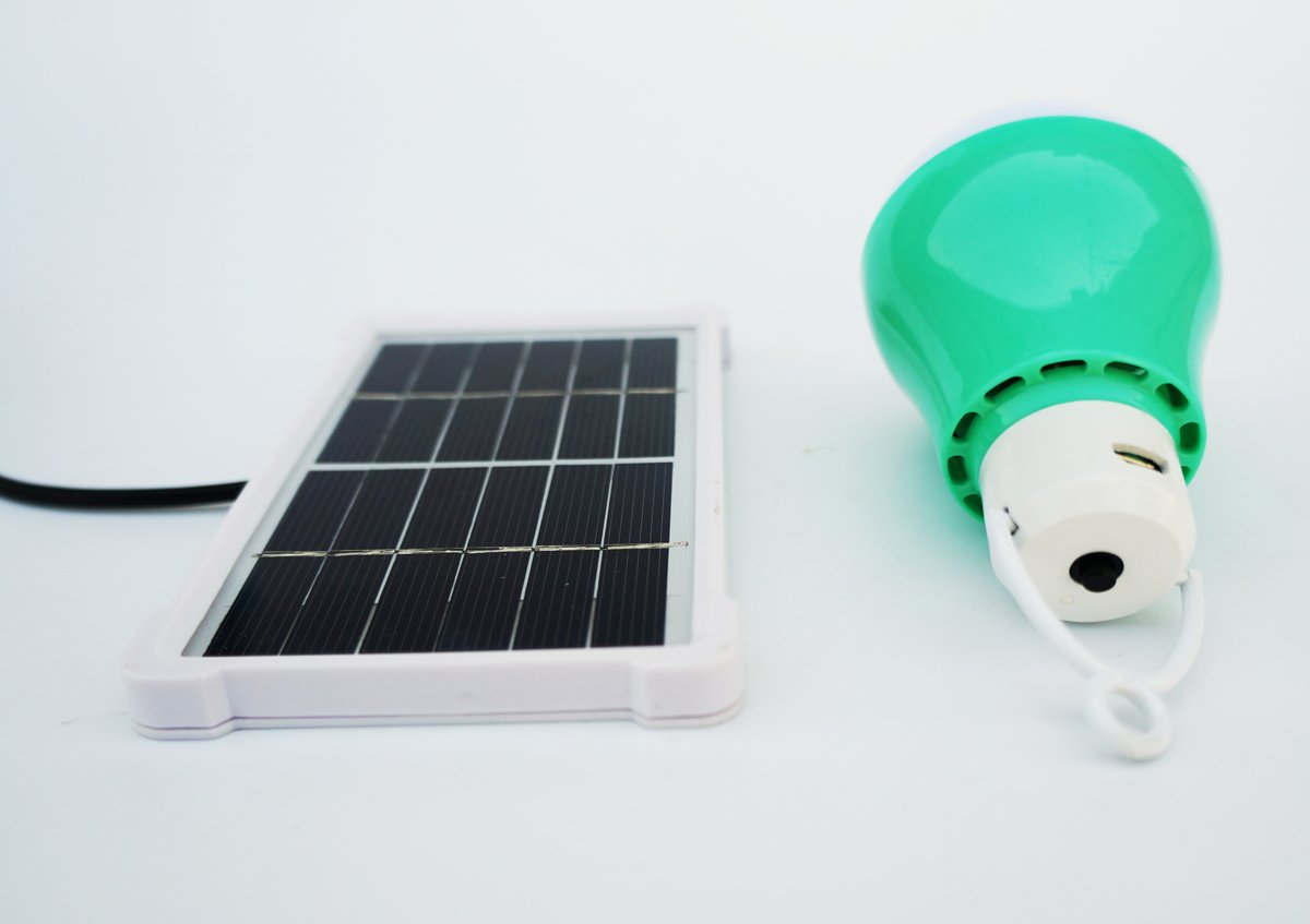 55 Discount On Solar Bulb Lights Rechargeable Solar Panel