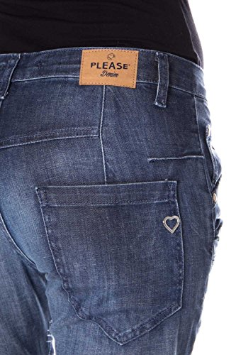 Denim para Mujer Mujer Vaqueros Please para Please Vaqueros T108xqwgg
