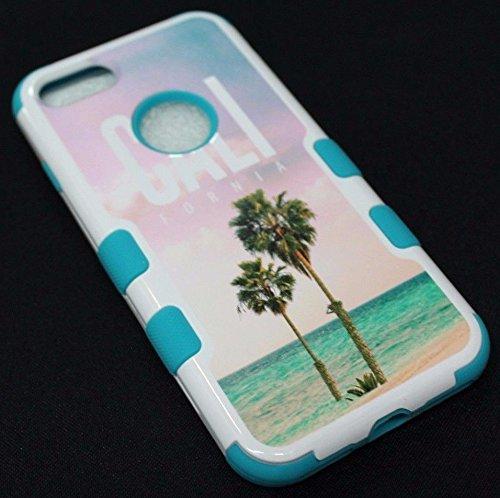 Apple iPhone 7 Case, TUFF Hard & Soft Hybrid Rubber Shockproof Case Protective Heavy Duty Impact Skin Case