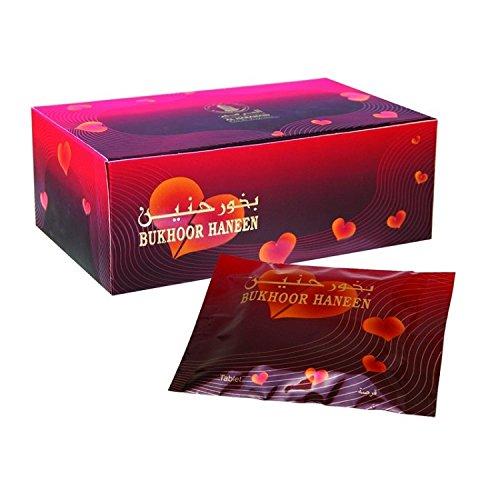 Bukhoor IncenseタブレットからHaramain 4 Pack B01M4LKAJM HANEEN 4 Pack