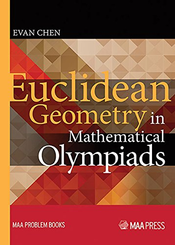 Pdf Math Euclidean Geometry in Mathematical Olympiads (Maa Problem)