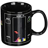 Amazing Innovation Oliasports Tetris Magic Color Changing Mug Cup, Black