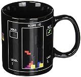 Oliasports Tetris Magic Color Changing Mug Cup, Black