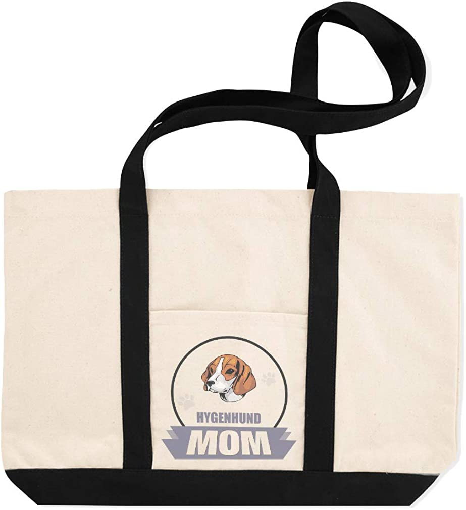Canvas Shopping Tote Bag Mom Hygenhund Dog Hygenhund Beach Bags for Women
