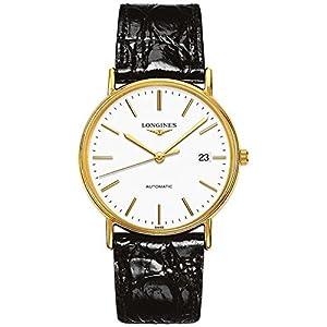 Longines Reloj Analógico para Hombre de Automático con Correa en Cuero L49212122 3