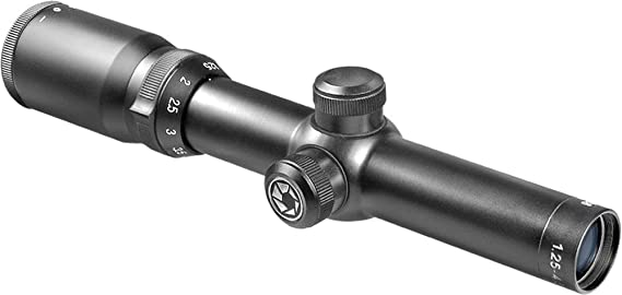BARSKA 1.25-4.5x26 30-mm Euro-30 Riflescope