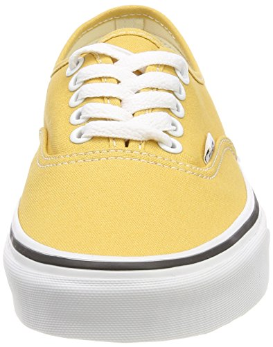 Authentic Vans de Qa0 Adulte White True Mixte Chaussures Running Jaune Ochre awqTdwCR