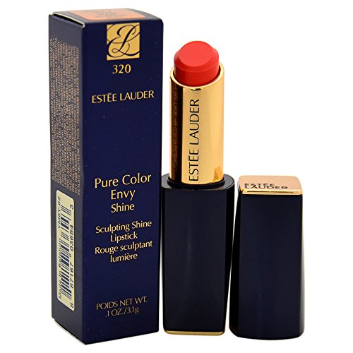 Estee Lauder Women's Pure Color Envy Shine Sculpting Lipstick, # 320 Surreal Sun, 0.1 (Estee Lauder Pure Color Lip)