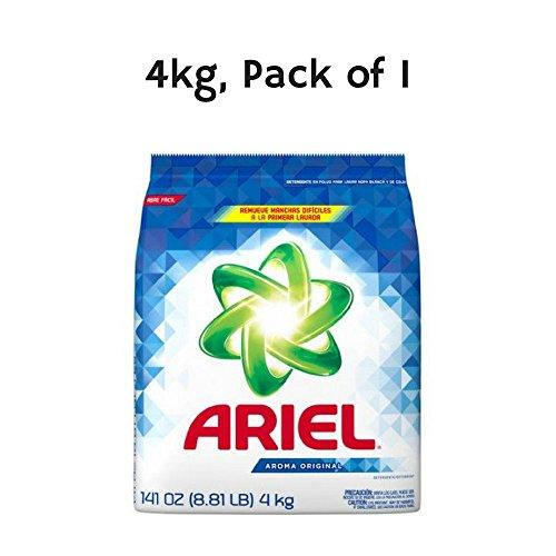 - Ariel Laundry Detergent, 4kg, Pack of 1