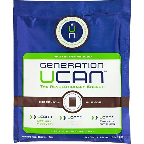 Generation UCAN SuperStarch 45.3g / 12 Pack Single Serve Chocolate Protein