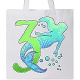 Inktastic - Third Birthday Mermaid Tote Bag White 2f048