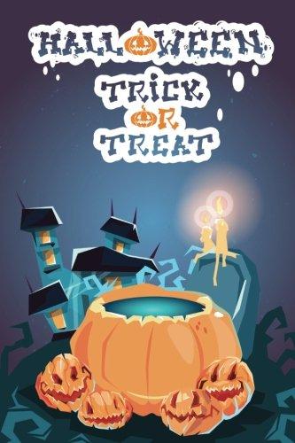 Happy Halloween 5 Grid Notebook: 150 page Grid Notebook Journal Diary (Spookies 150 Grid Notebooks) (Volume 94) -