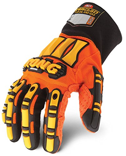 Ironclad KONG SDX2-04-L Original Oil & Gas Safety Impact Gloves, Large by Ironclad