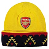 Arsenal FC Official SOCCER One Size Knit Beanie Hat by Rhinox